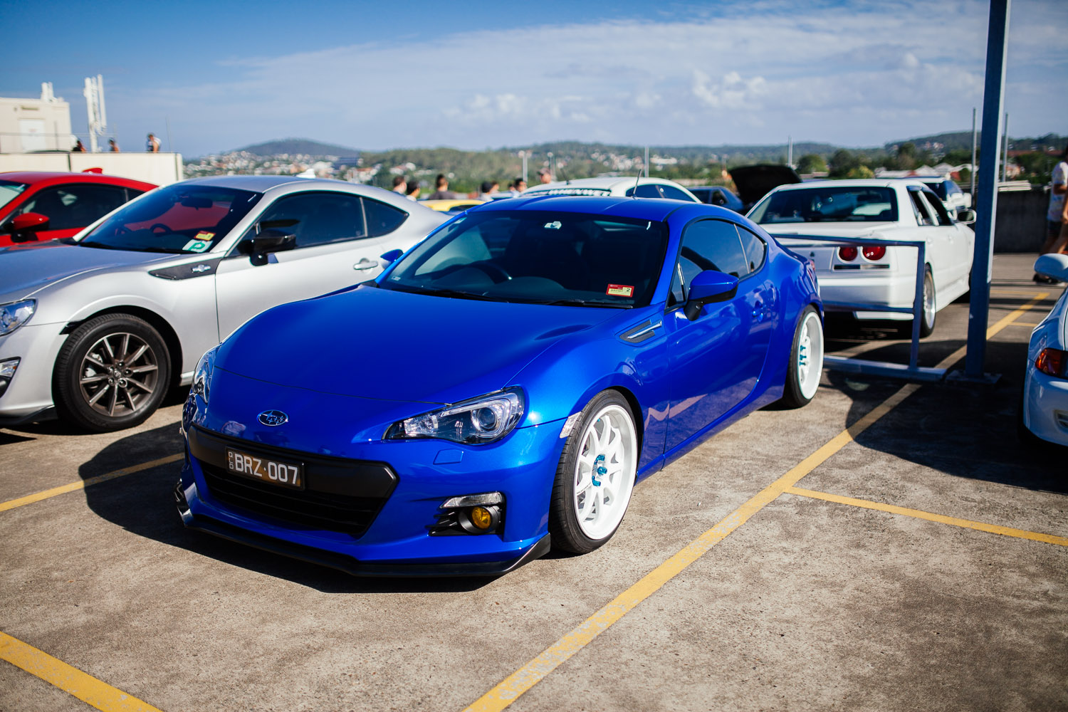 Subaru BRZ. Now where's that long awaited STi version?