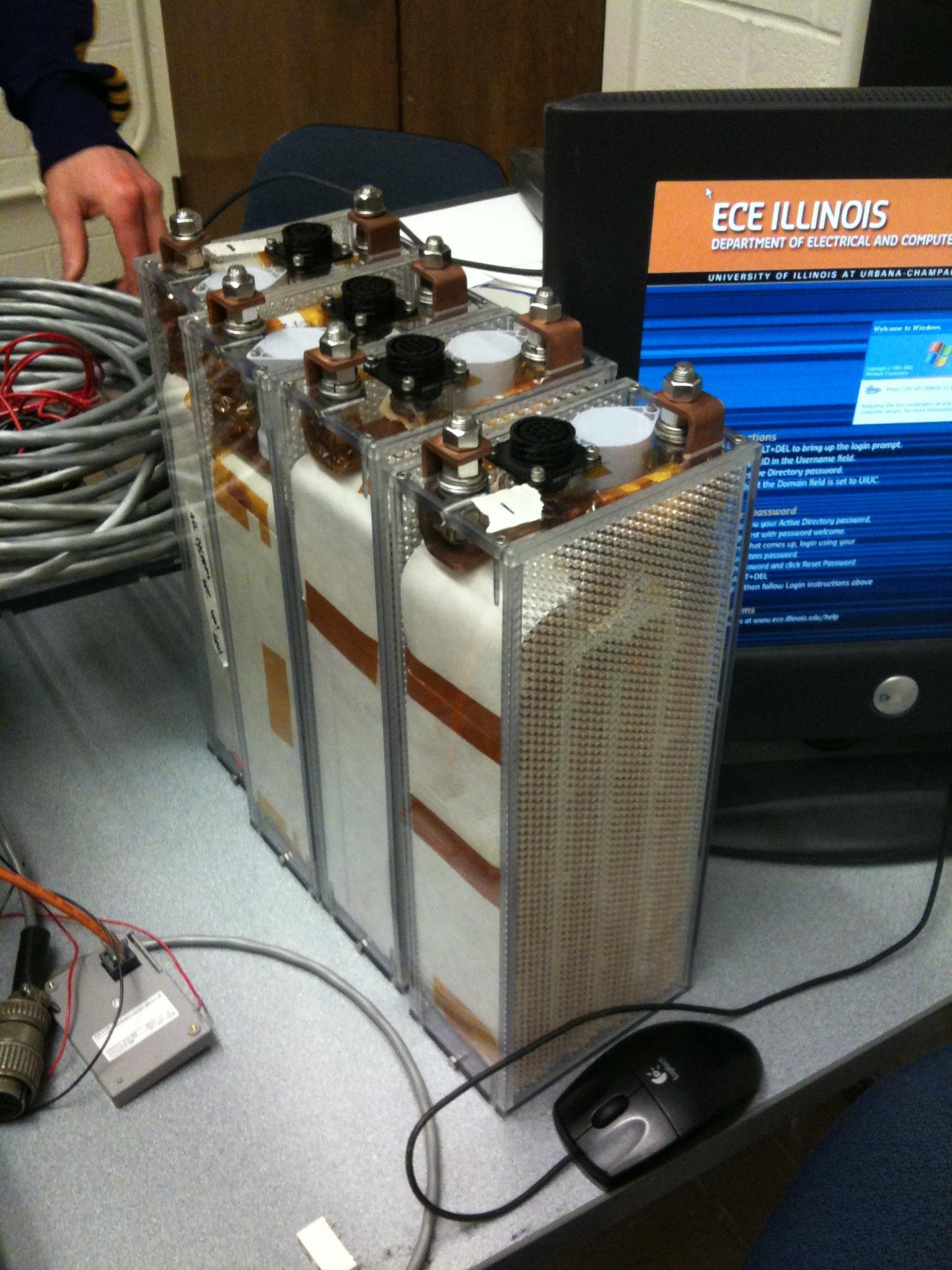 Assembled battery modules