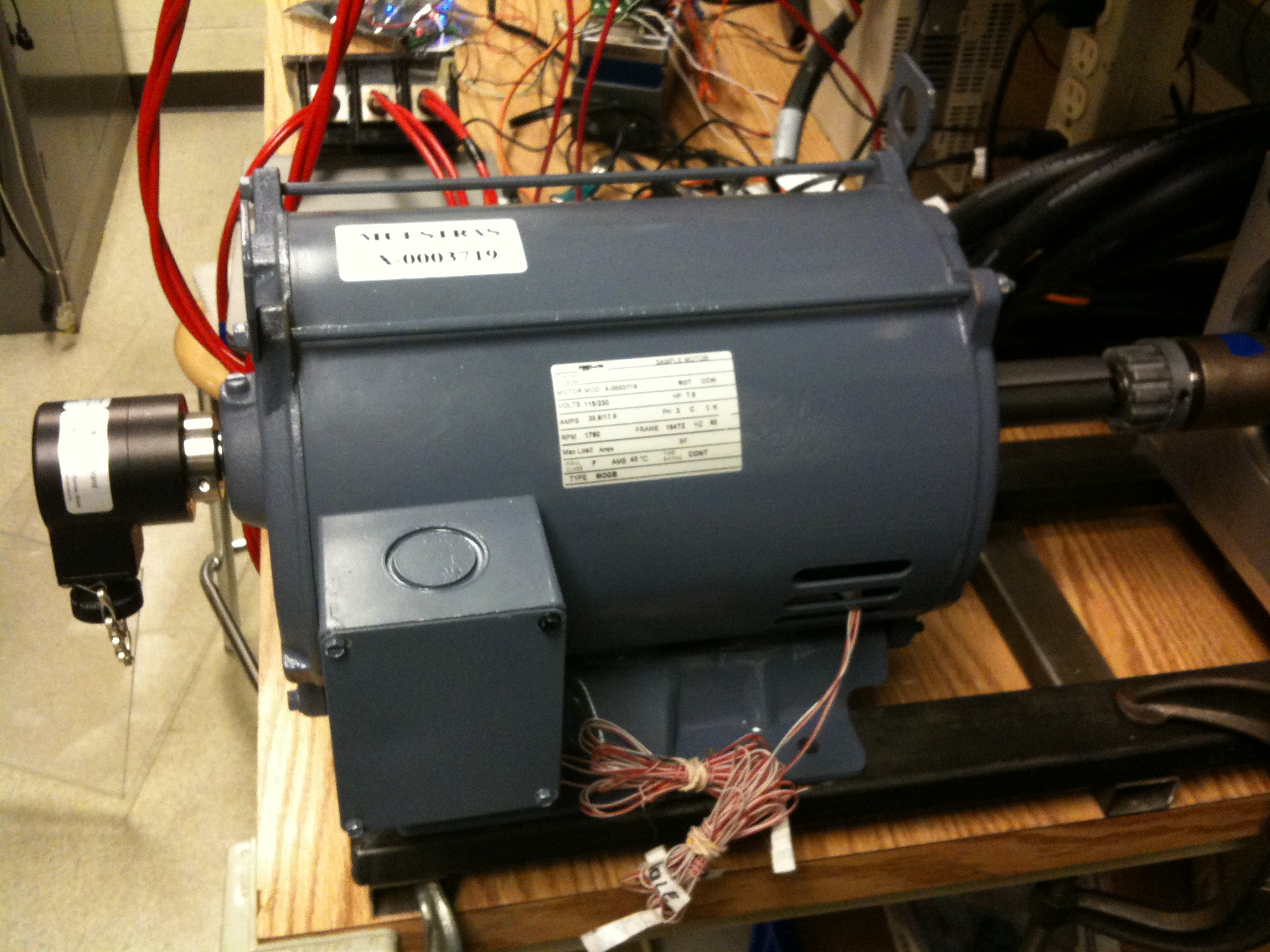 A.O. Smith drive motor