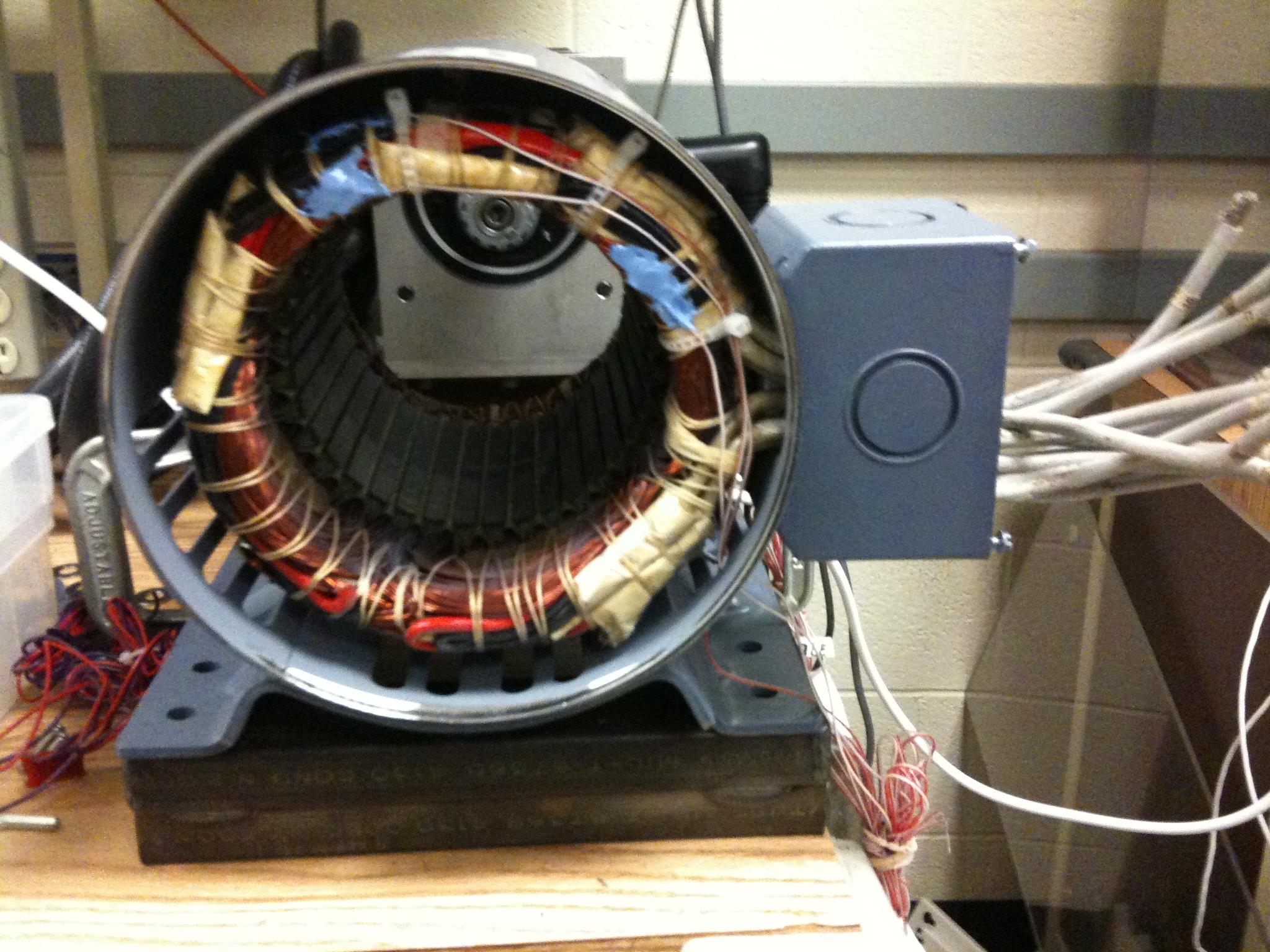 Inside the A.O. Smith drive motor