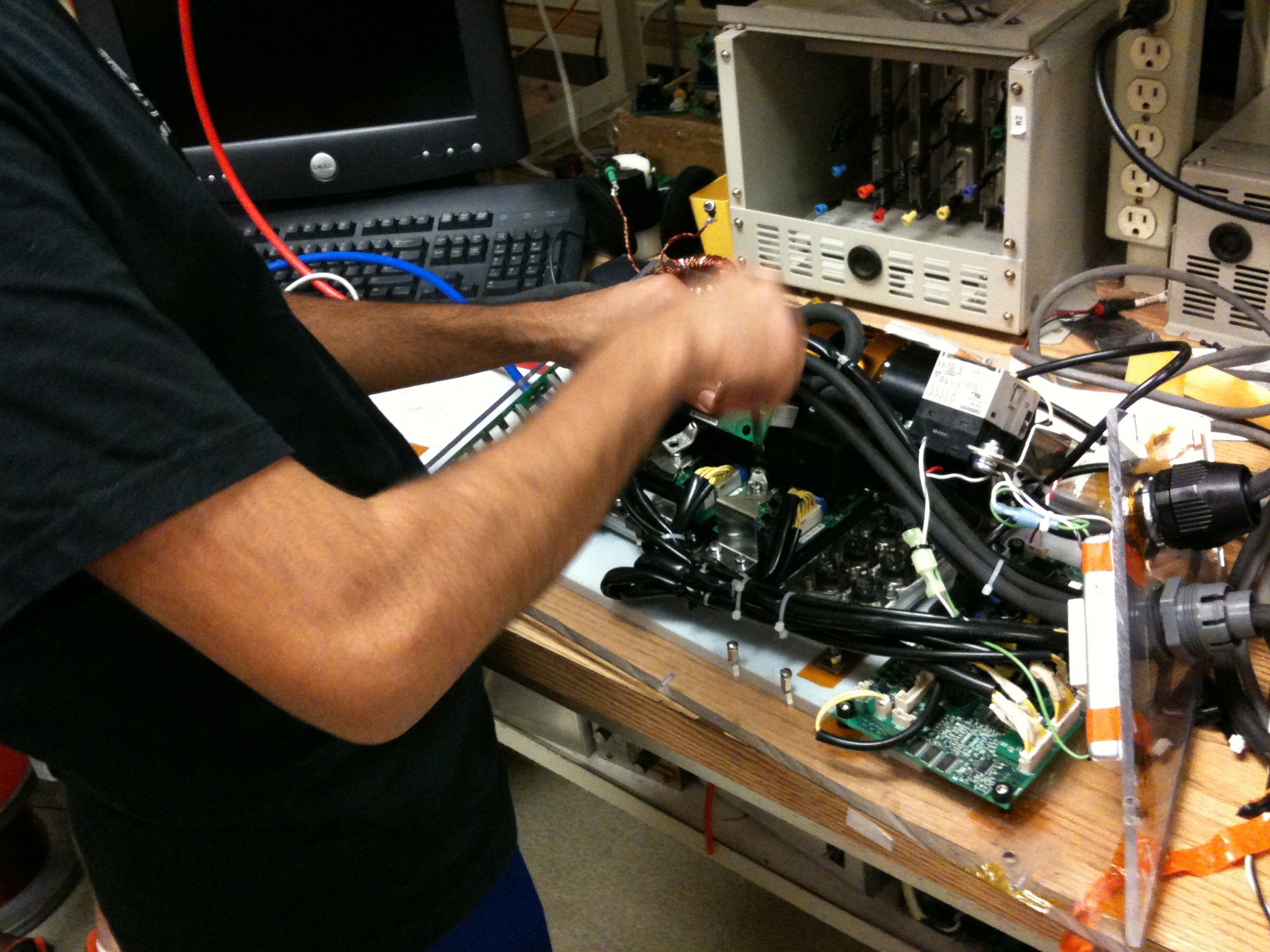 Working on the A1000 motor drive