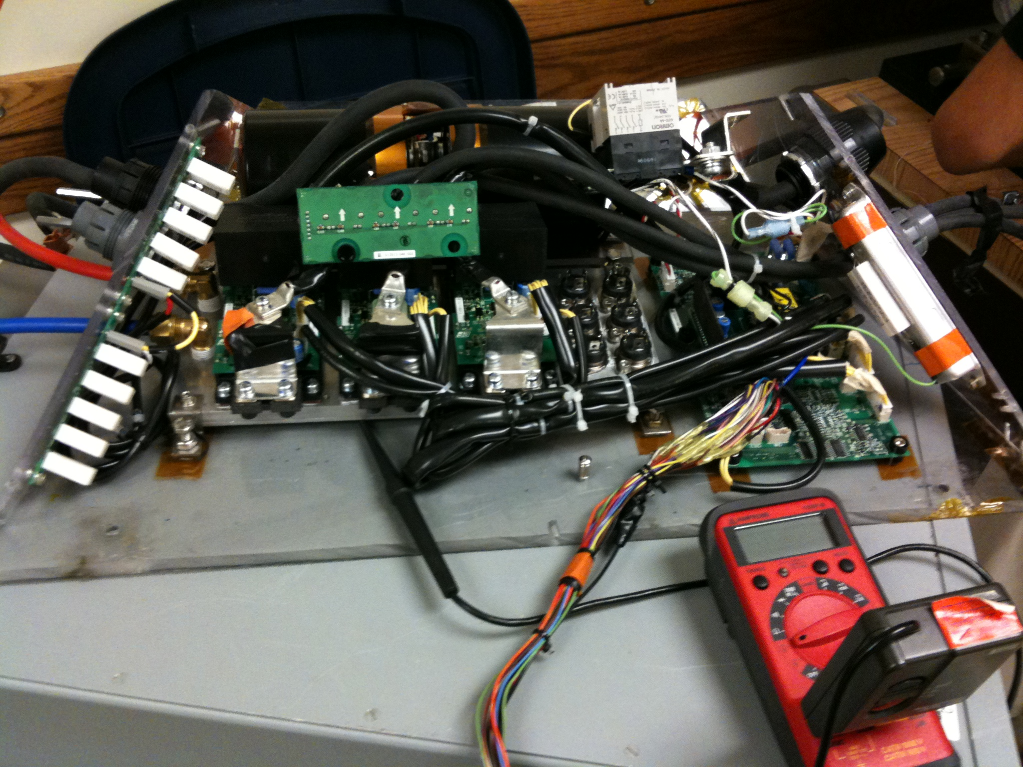 Repackaged A1000 motor drive