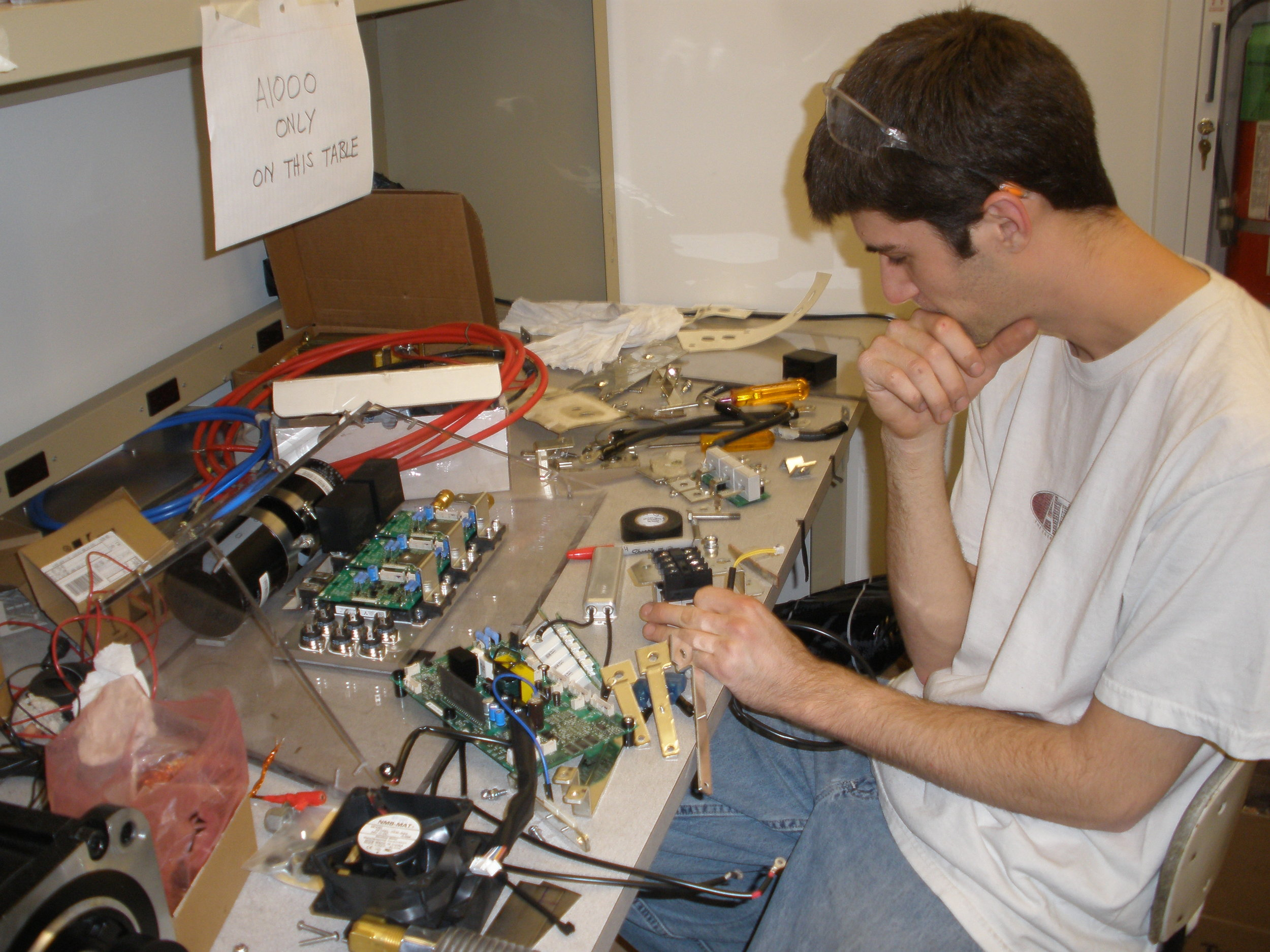 Assembling the repackaged A1000 motor drive