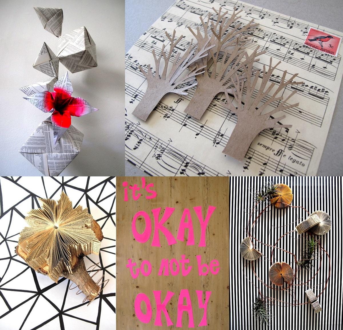 Paper Art Book Artworks Origami