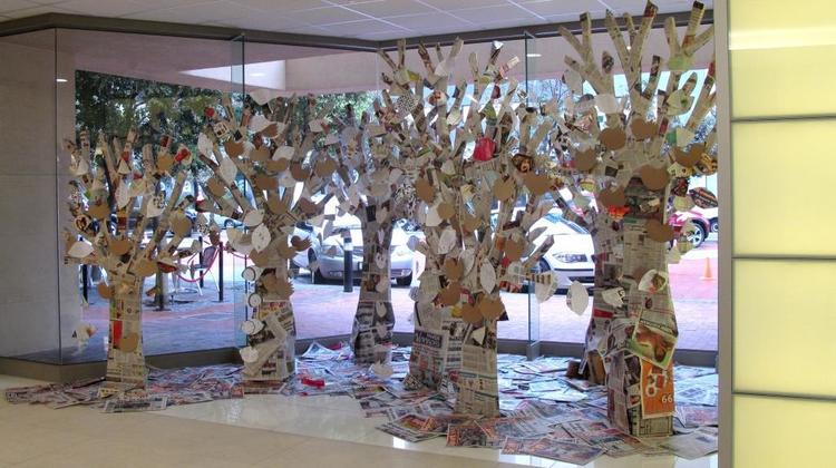 Newspaper Forest