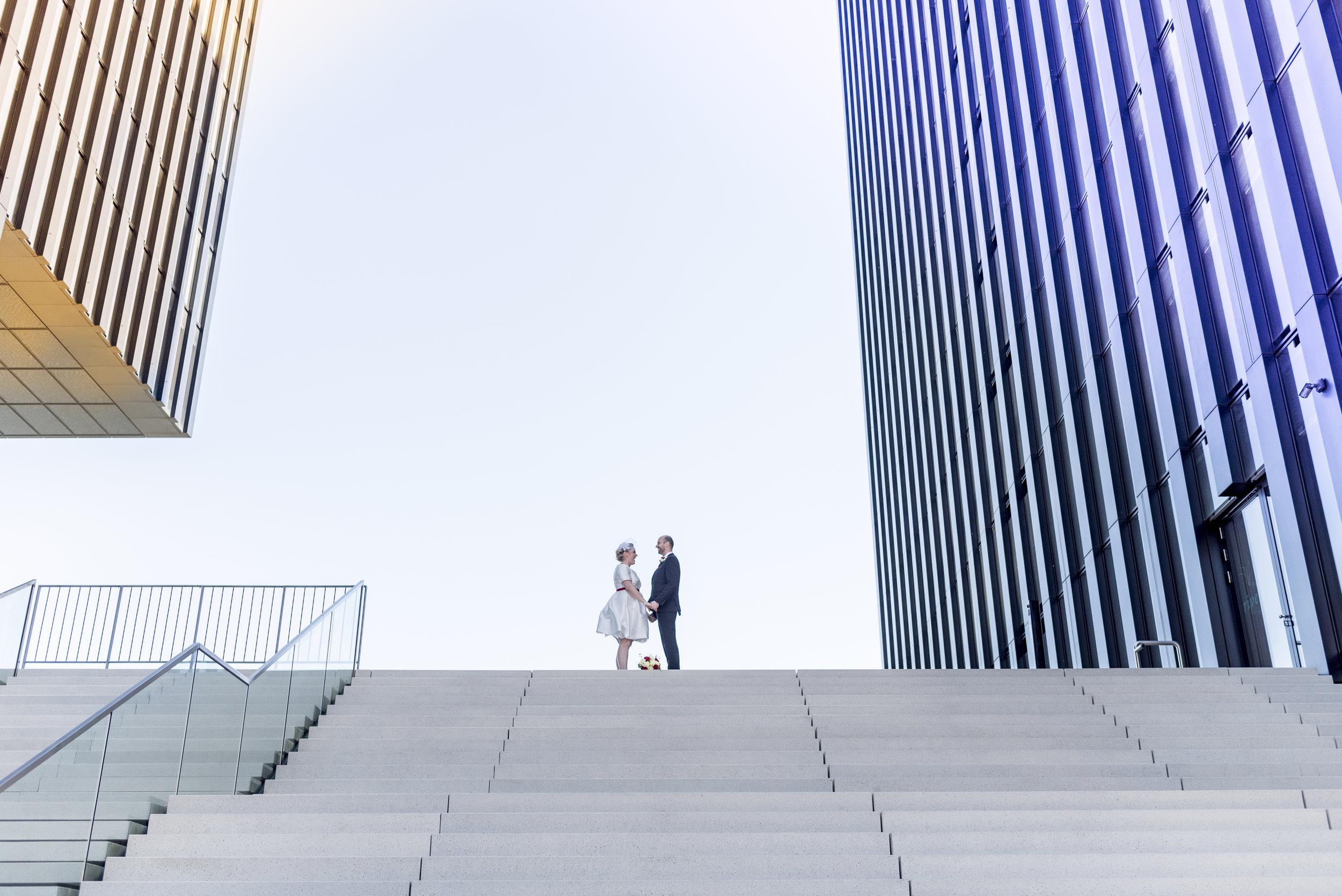Hochzeit in Düsseldorf:Amelie & Michael