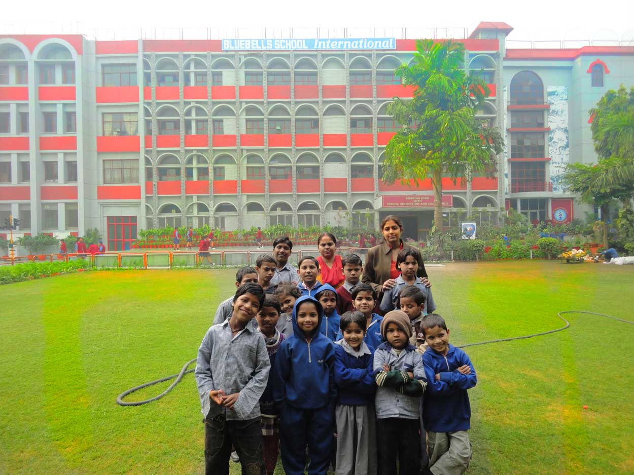 Students of Ankuran.