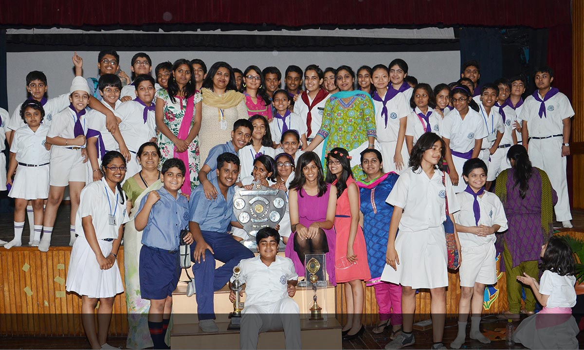 The BSF trophy felicitates the multifaceted talents of the student body