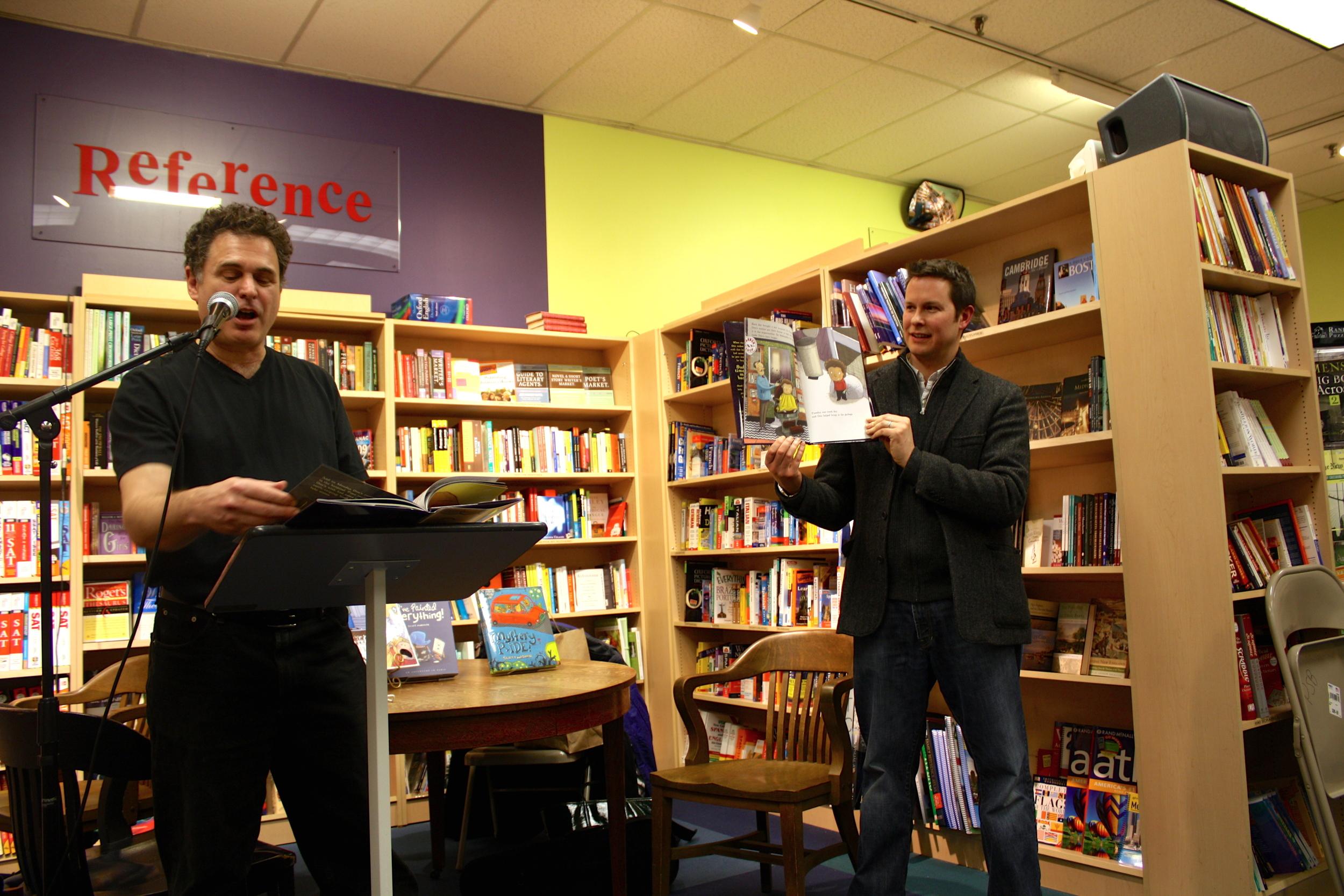 Michael Sussman & I read  Otto Grows Down  at Porter Square books in Cambridge, MA.