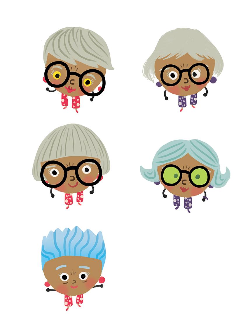 Grandma Nut Concept