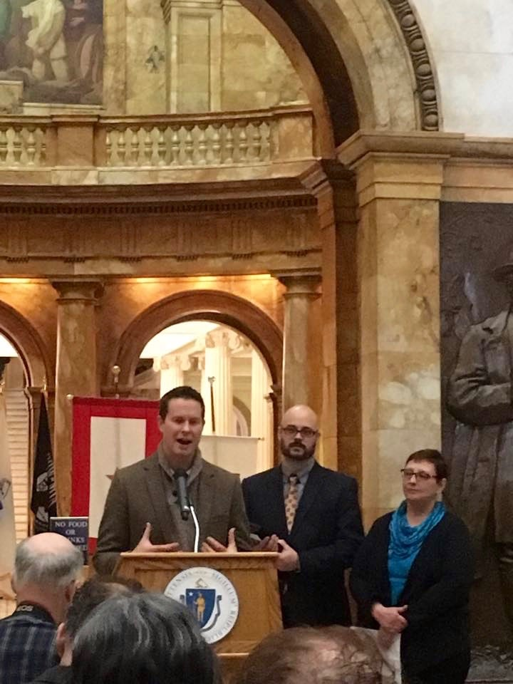 I made a few remarks about the art and story of BREATHE and how it came to be at the Massachusetts State House.