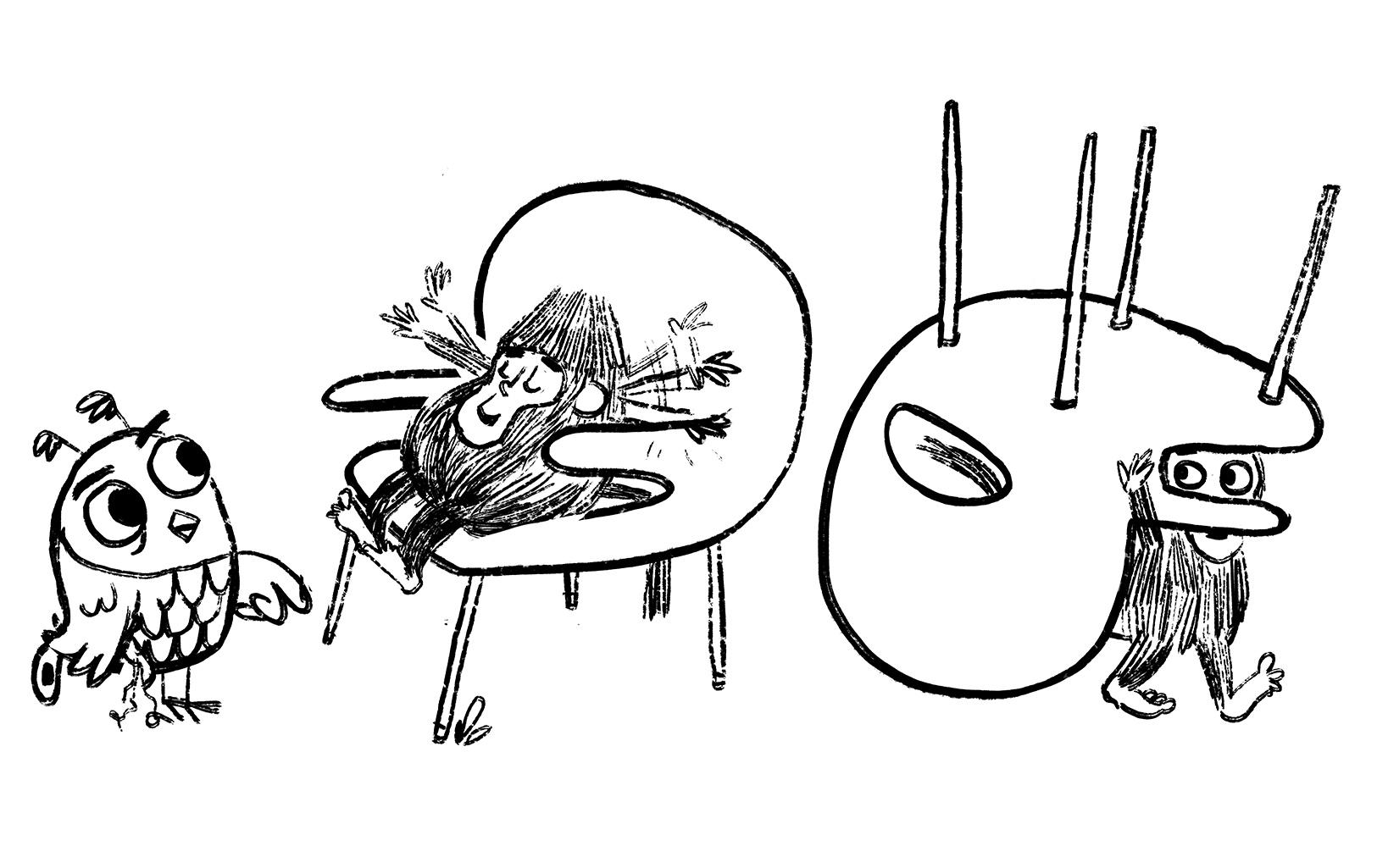 I love Monkey's chair.