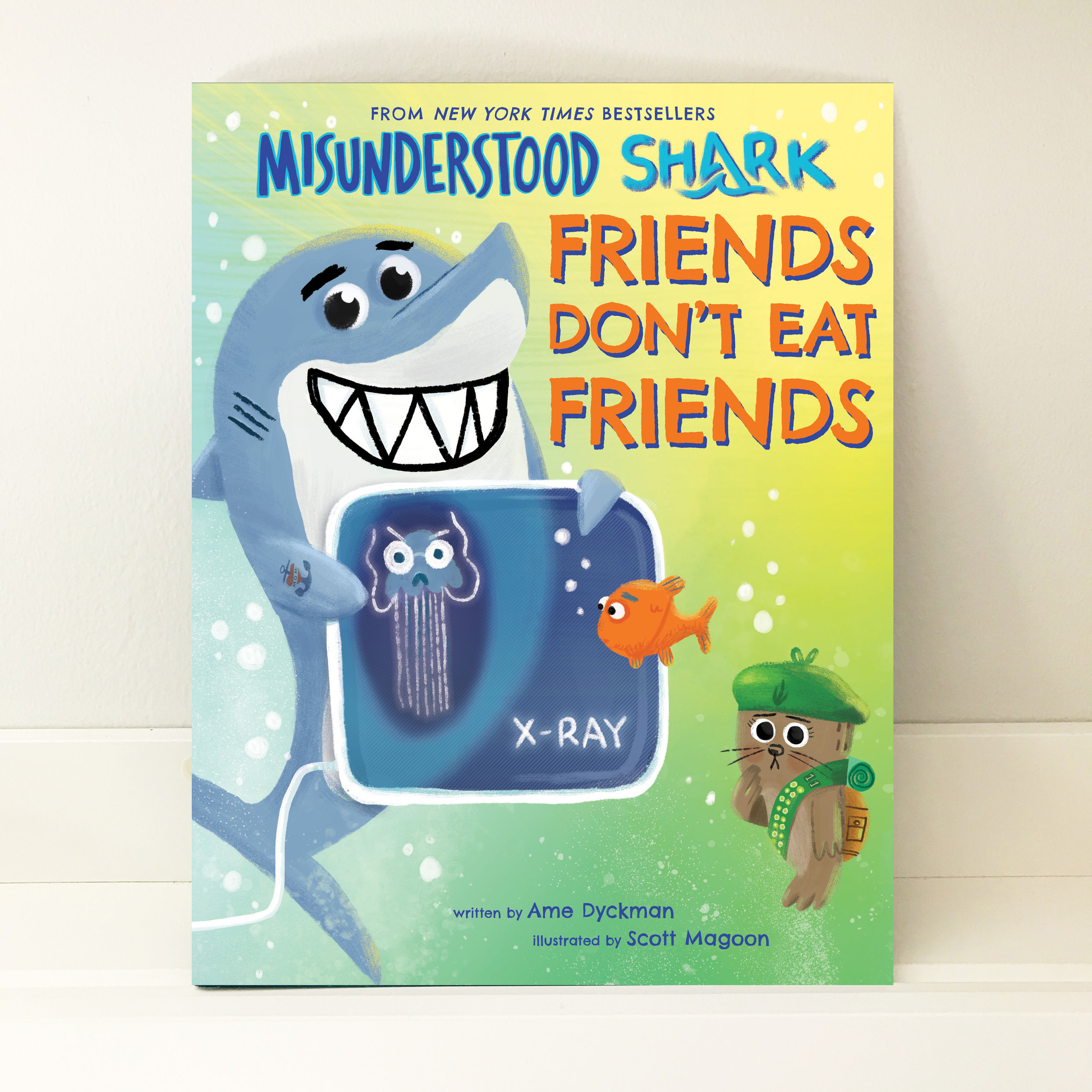 Sea-quel Alert! - If you loved Shark, Bob and the gang then be sure to check out MISUNDERSTOOD SHARK FRIENDS DON'T EAT FRIENDS. Learn more here.