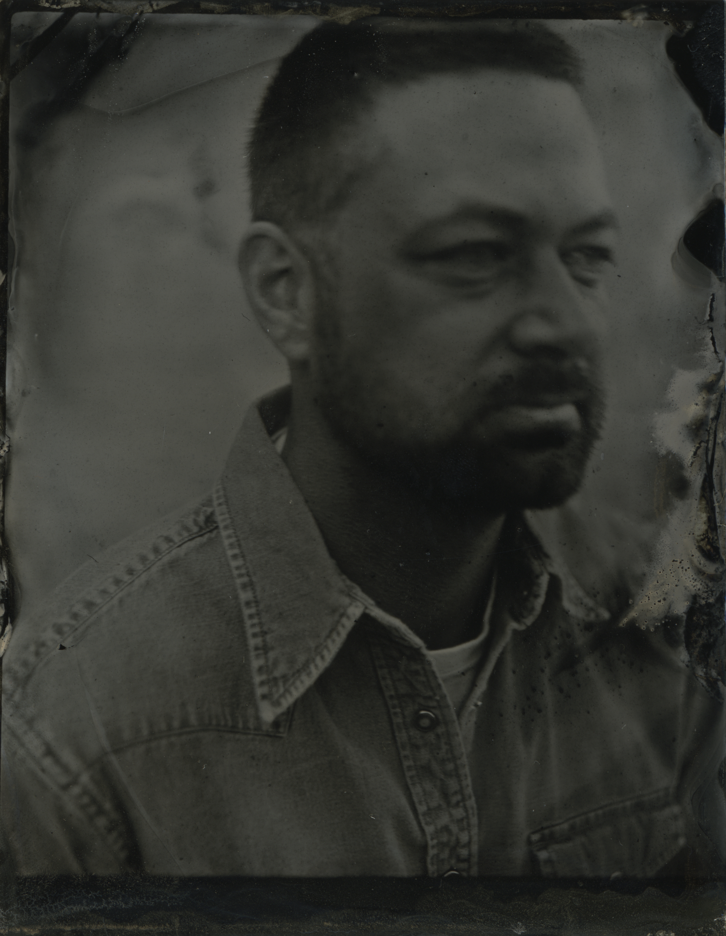 Collodion Wet Plate by Tess Hamilton