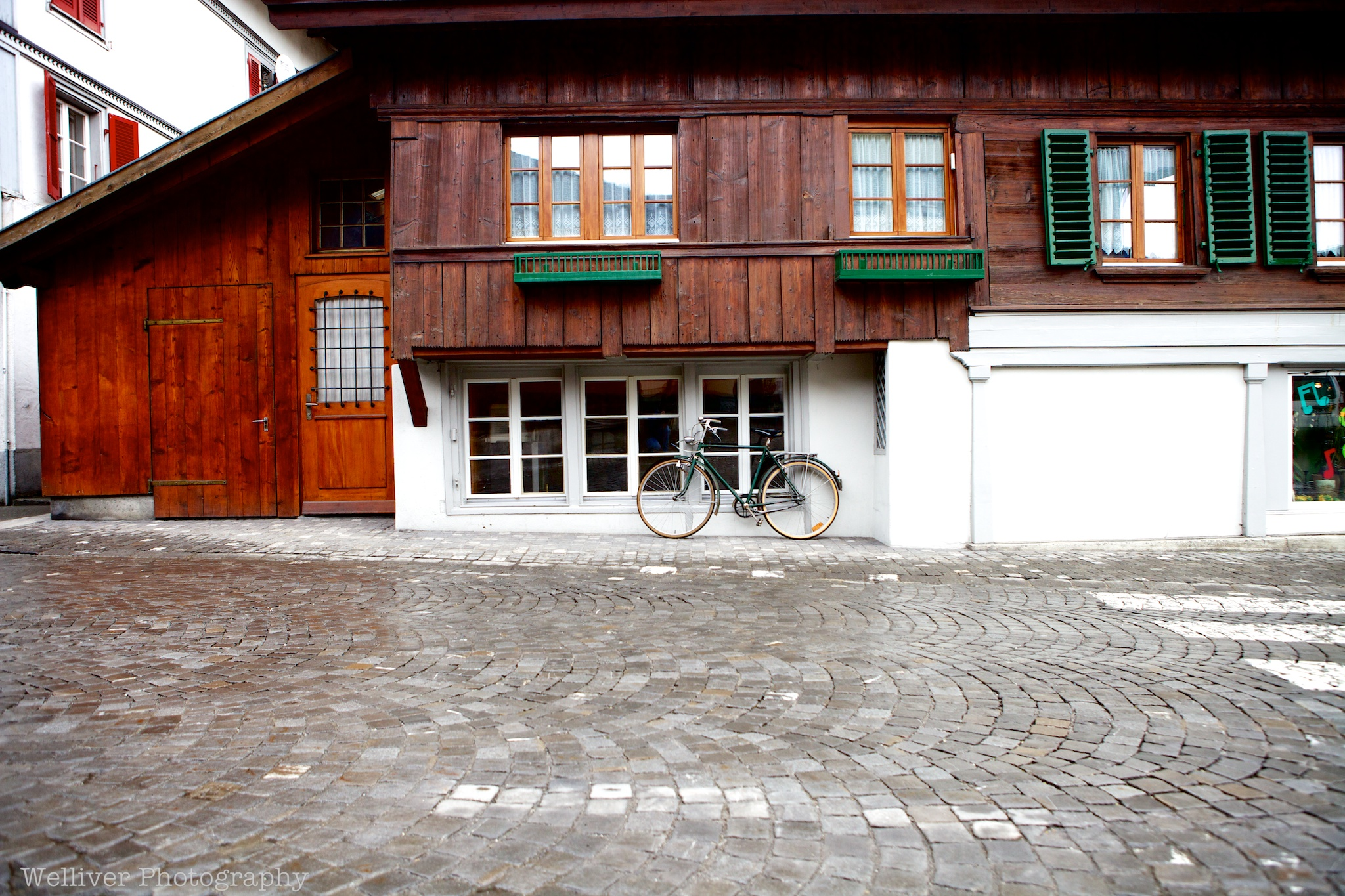 Bicycle. Interlaken, Switzerland.