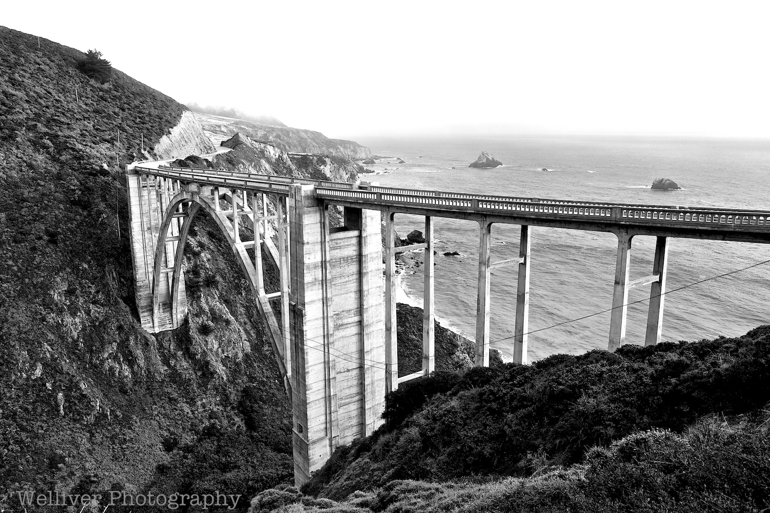 Big Sur: Bixby Bridge by Terry.