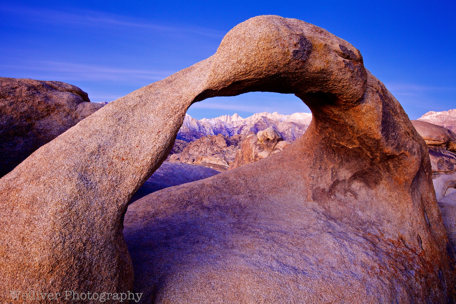 Alabama Hills: Mobius Arch by Terry.