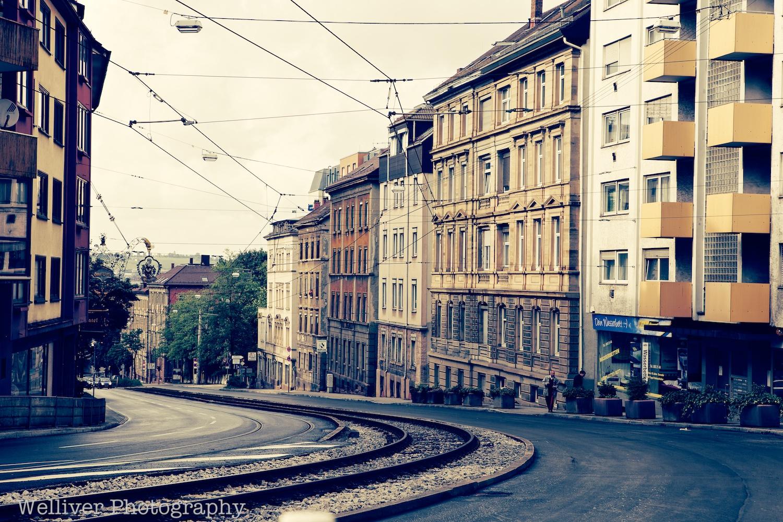Hohenheimer Straße. Stuttgart, Germany.