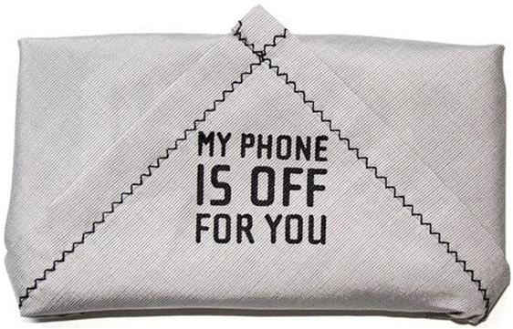 I may want to get one of these: Cool thing -the story of the Phonekerchief