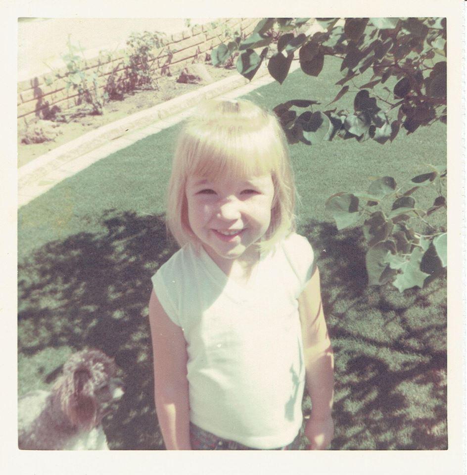 Nancy at age 4, 1968