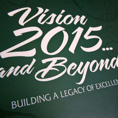 Print : Vision 2015 Booklet