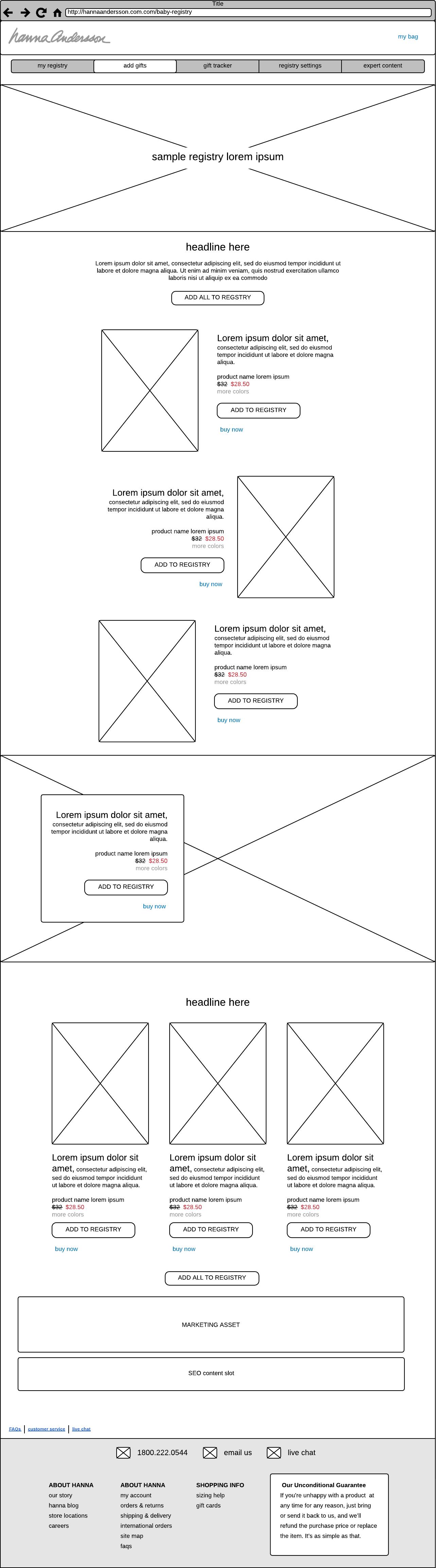 Editorial Sample Registry