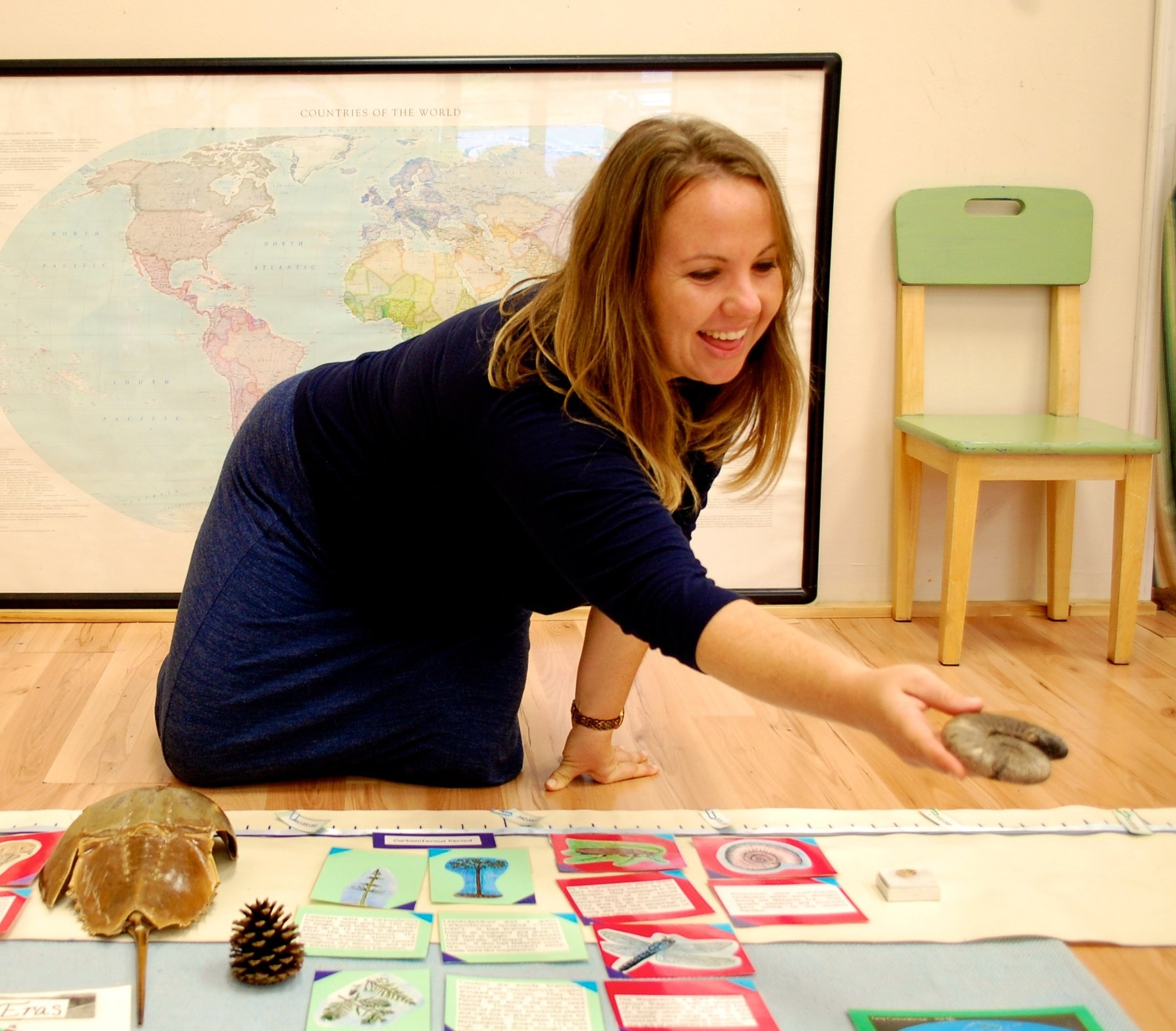 Nichole Rebich - Nicole is a certified and practicing Montessori teacher and advocate for educational systems that teach the whole child. She has been working with elementary aged children in the NRV for over twelve years- working as a guide in nature, visual arts, and culinary programs. Nicole is committed to implementing educational curricula that encourages mindfulness, advocacy, and diversity. She enjoys guiding children in their development of art skills and techniques, as well as use of assorted art media to express themselves emotionally, spiritually, and academically. Nicole has an MS in Curriculum and Instruction from Radford University and an Elementary credential from the Institute for Advanced Montessori Studies through the American Montessori Society.