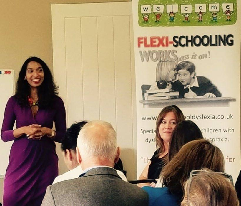 - Enjoyed talking about working memory and dyslexia at FlexiSchool in Kent, UK