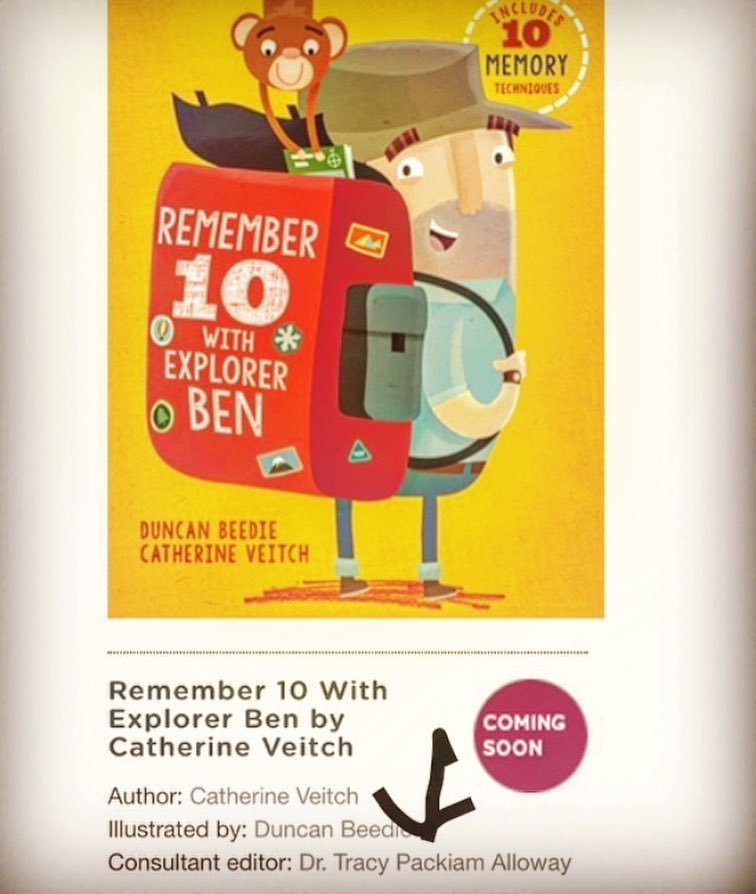 - So excited to have collaborated on this fantastic children's book on memory. BUY ON AMAZON