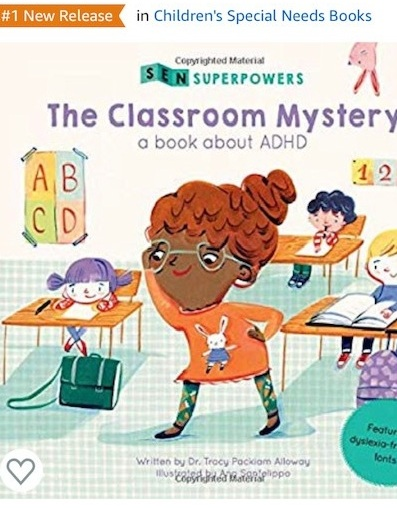 """#1 NEW RELEASE  My children's books """"give children with learning disabilities superpowers and voices to spread awareness."""""""