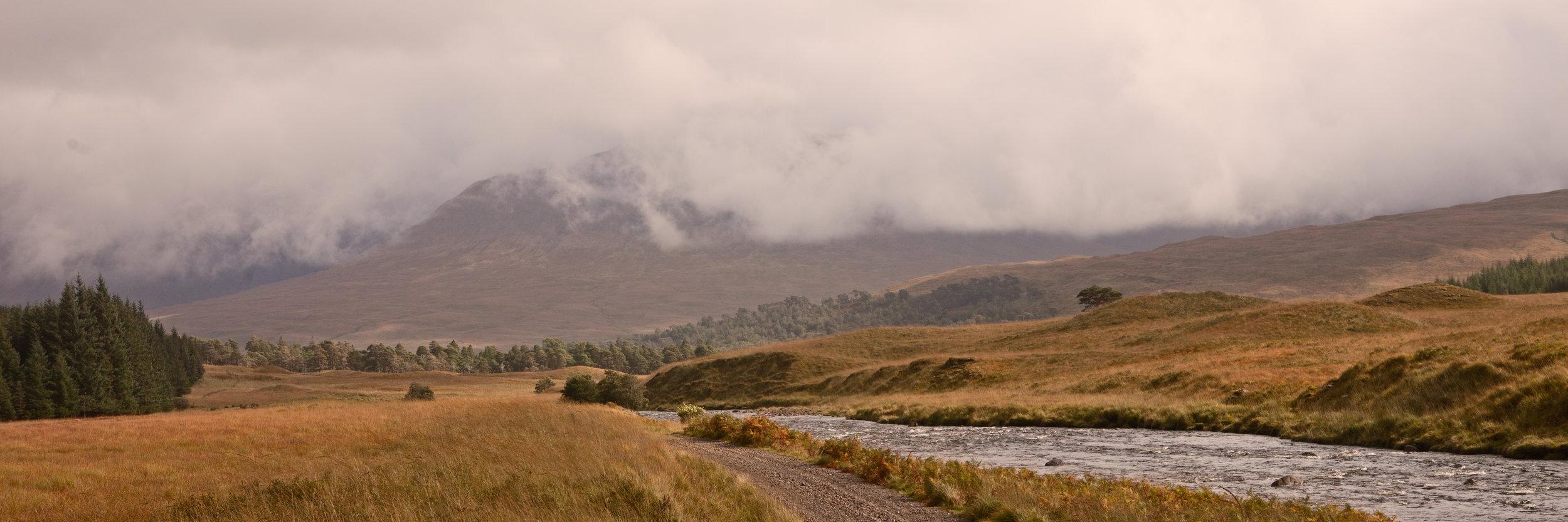 Rain on Glen Kinglass II