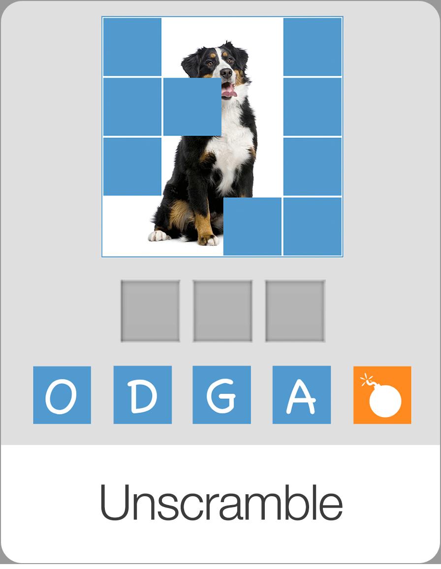 Unscramble — Bitsboard