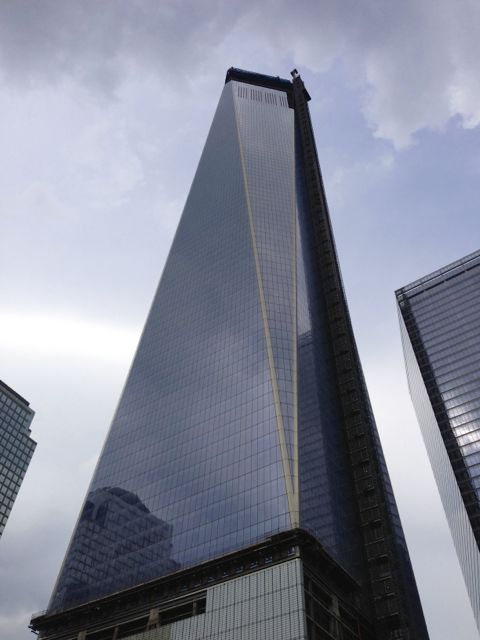 The Freedom Tower From Below