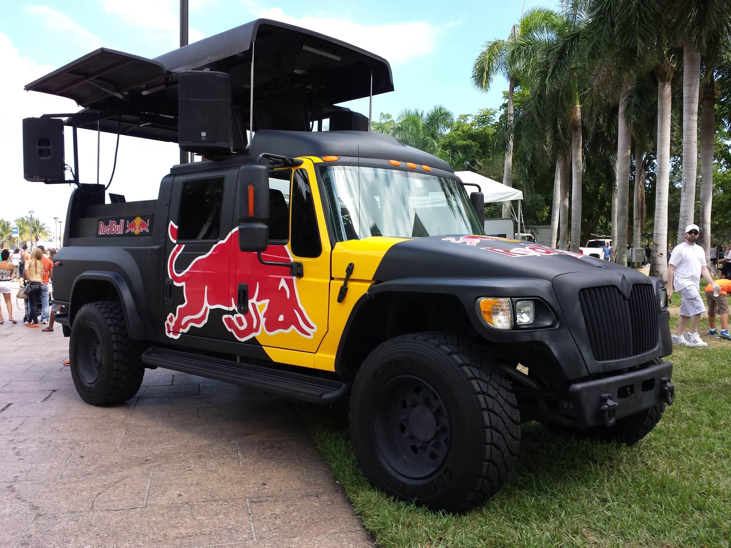 Red Bull Truck