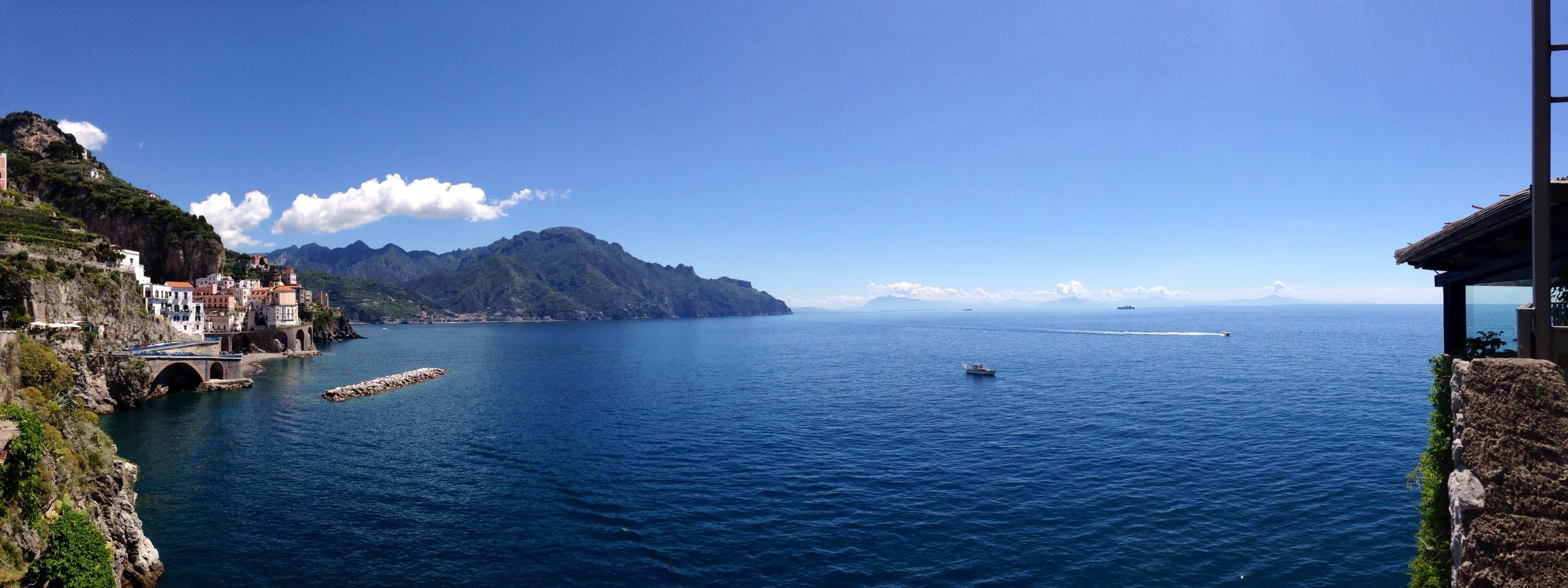 A look done the Amalfi Coast.