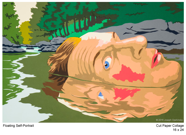 Floating Self-Portrait (2016)