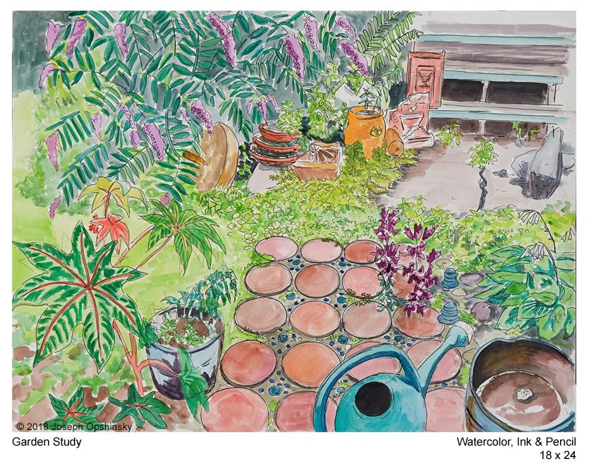 Garden Study (2018)