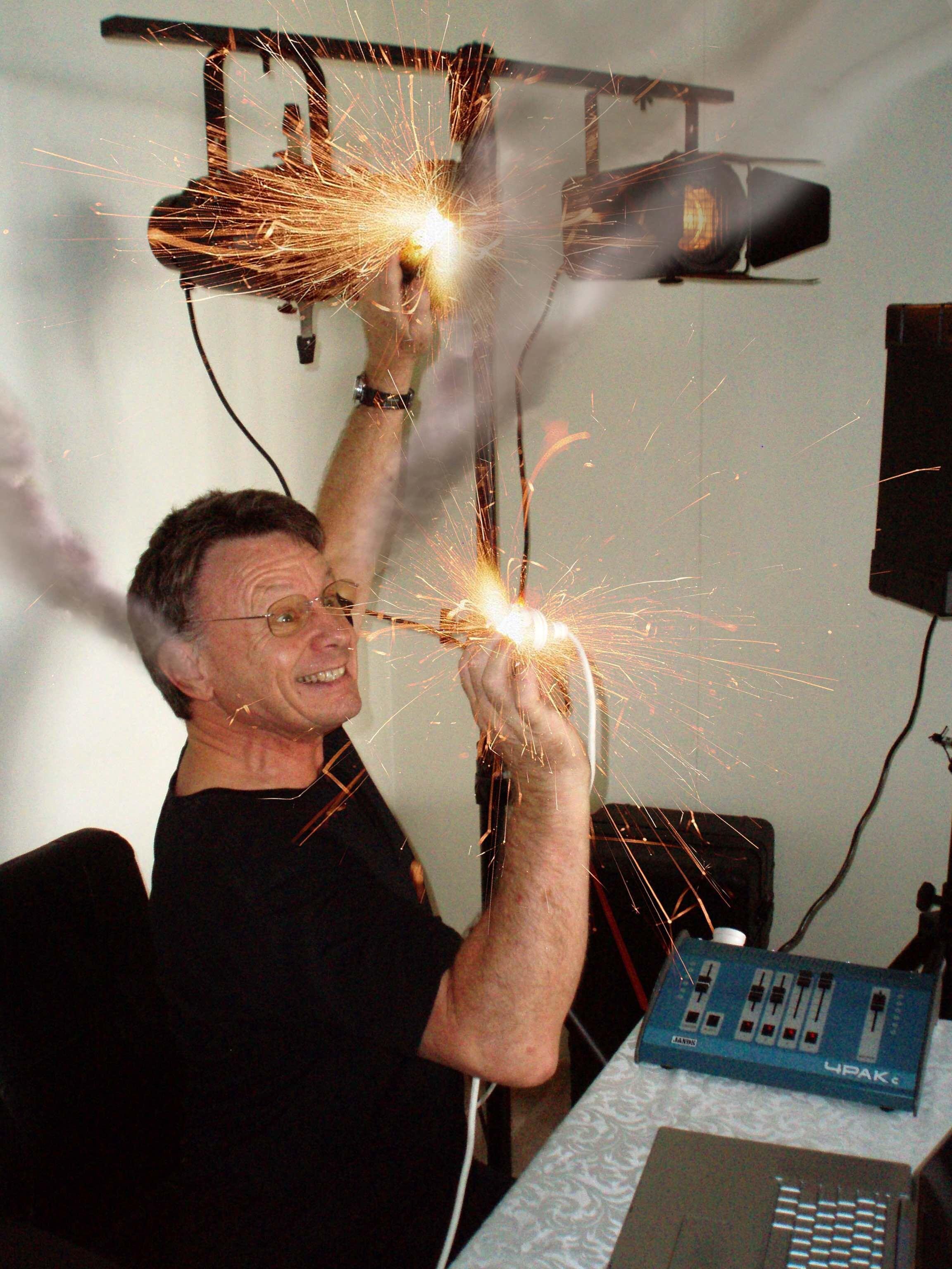 Dean Collier - electrifying!