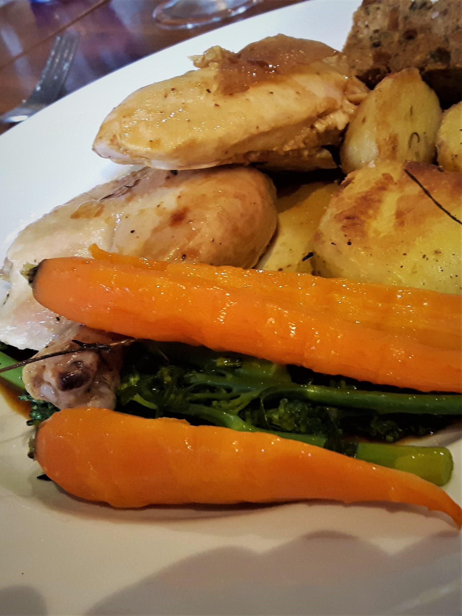 Sunday Roast Chicken at Boboli