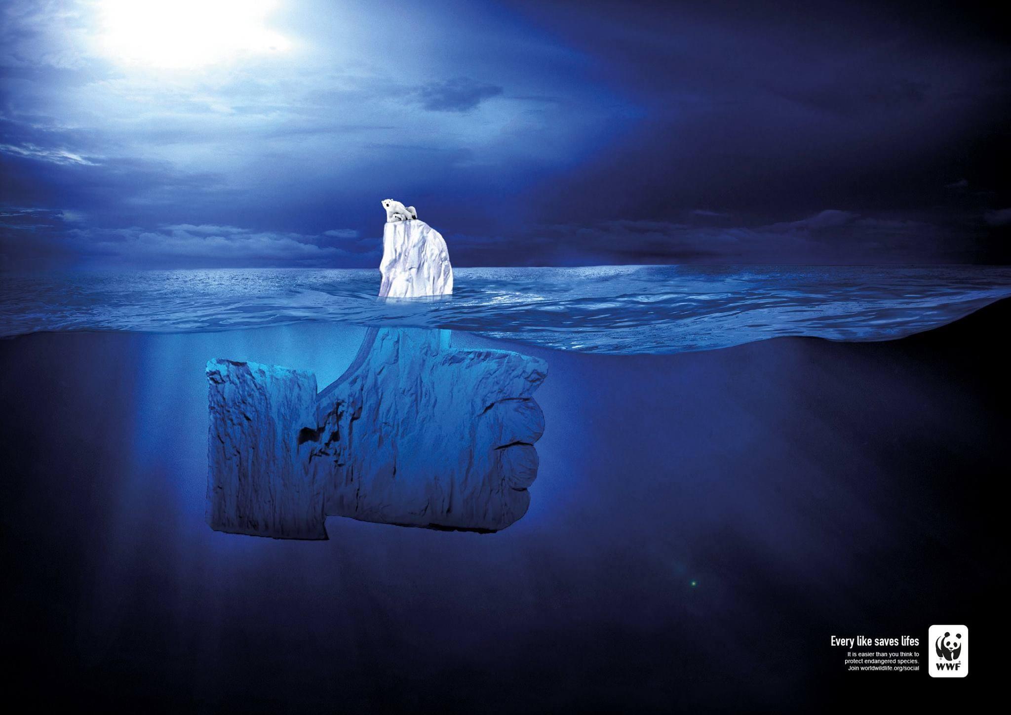 Printannoncen, som med iskold kølighed stak op over de 44 andre kandidater og placerede sig på en megaflot 3. plads.