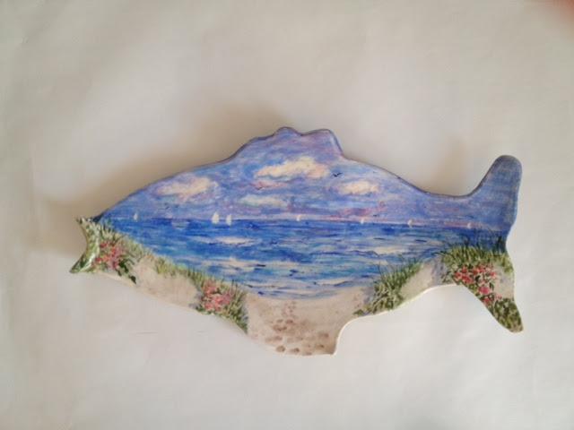 Fish Platter by Beth Reynolds