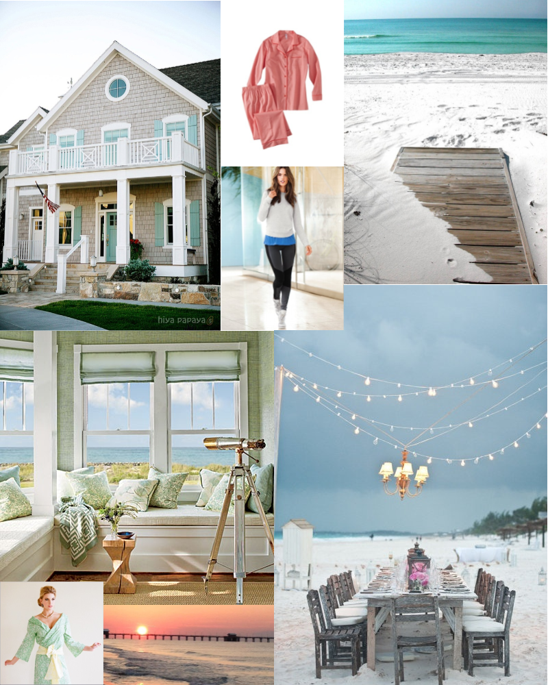 winter beach inspiration