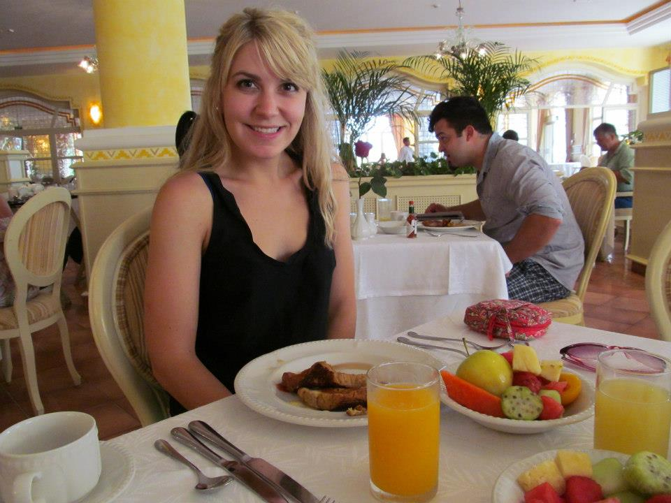 Mmm.... best breakfasts (esp. cappuccinos!) ever!