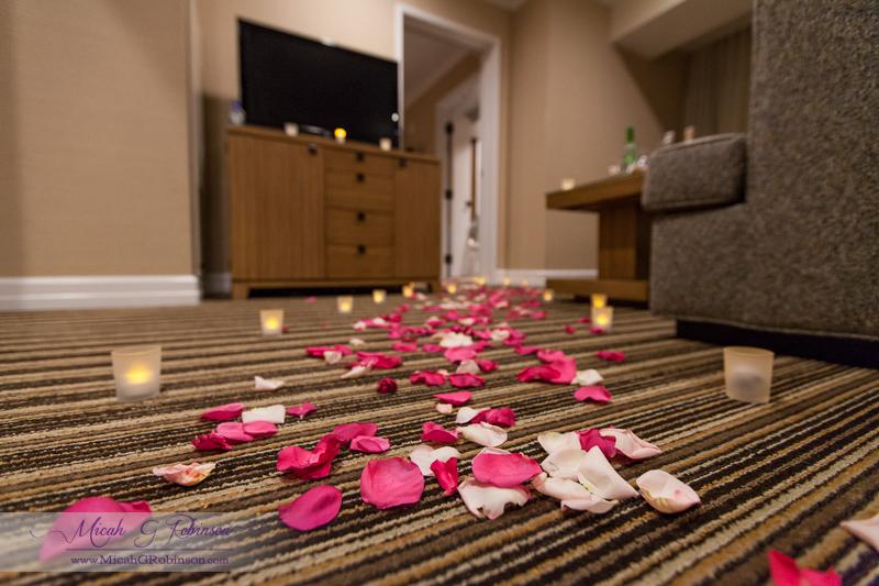 honeymoon hotel suite decoration kelly dellinger events