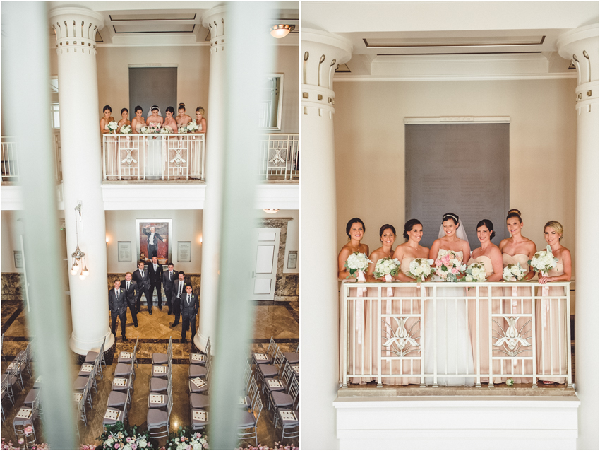 schermerhorn pink wedding party