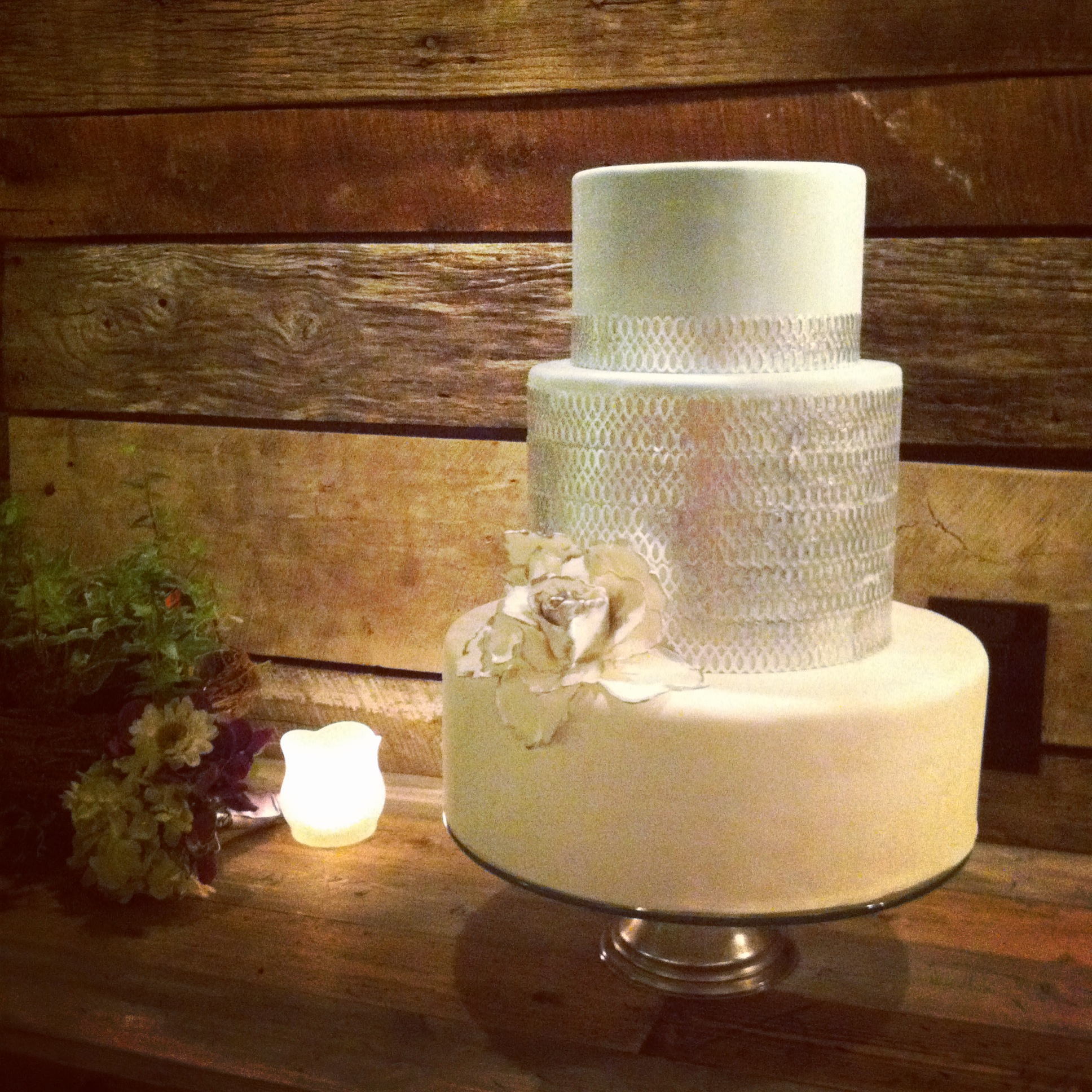 Gorgeous cake by  Crumb de la Crumb  at their delicious Open House last night!
