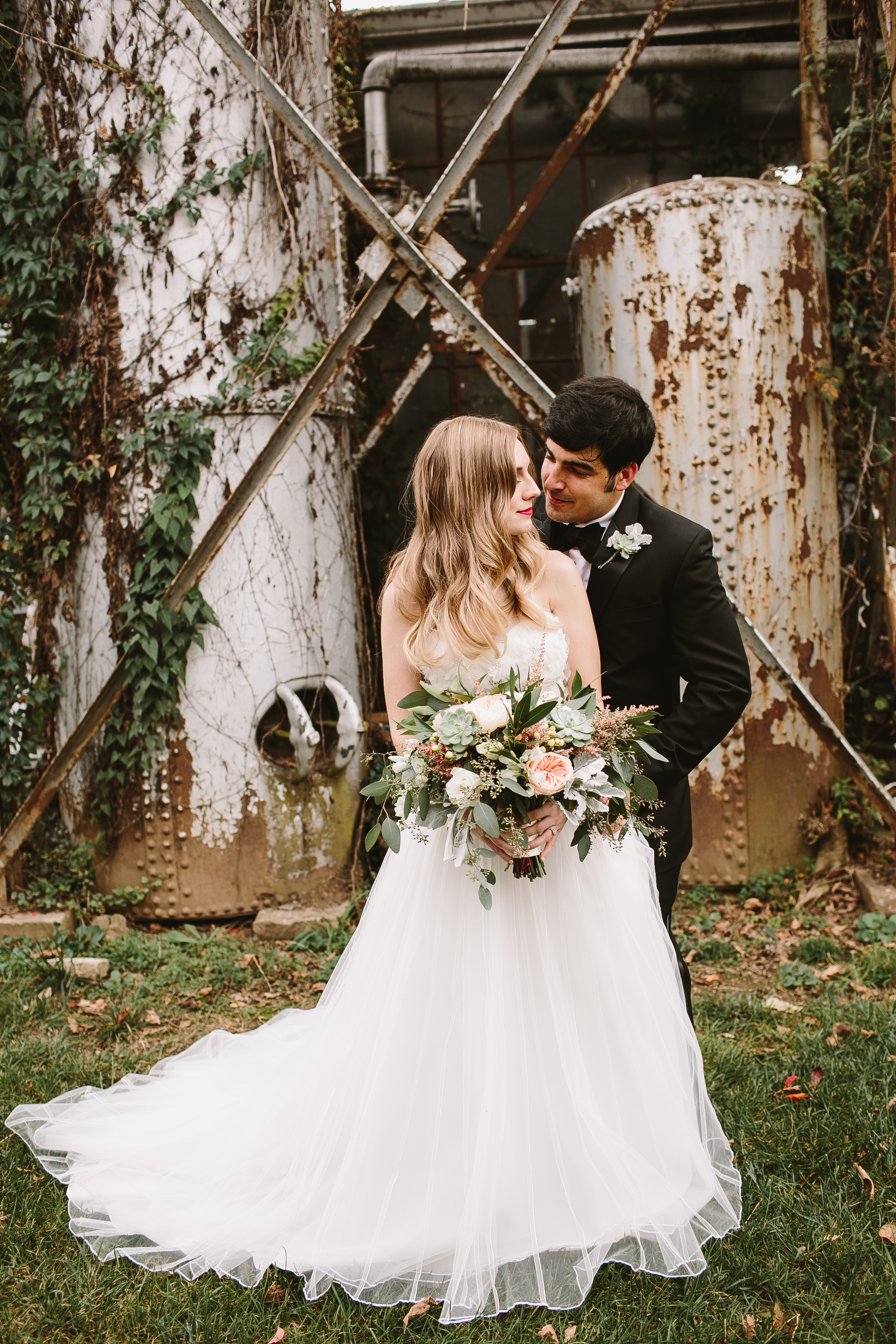 rustic organic wedding