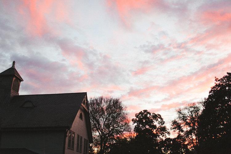 belle meade plantation sunset