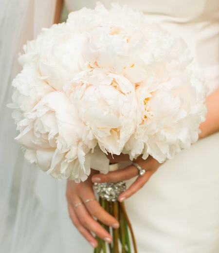 smells divine, will always make her smile! peony bouquet by  Amanda Jerkins ,  captured by  Spindle Photography