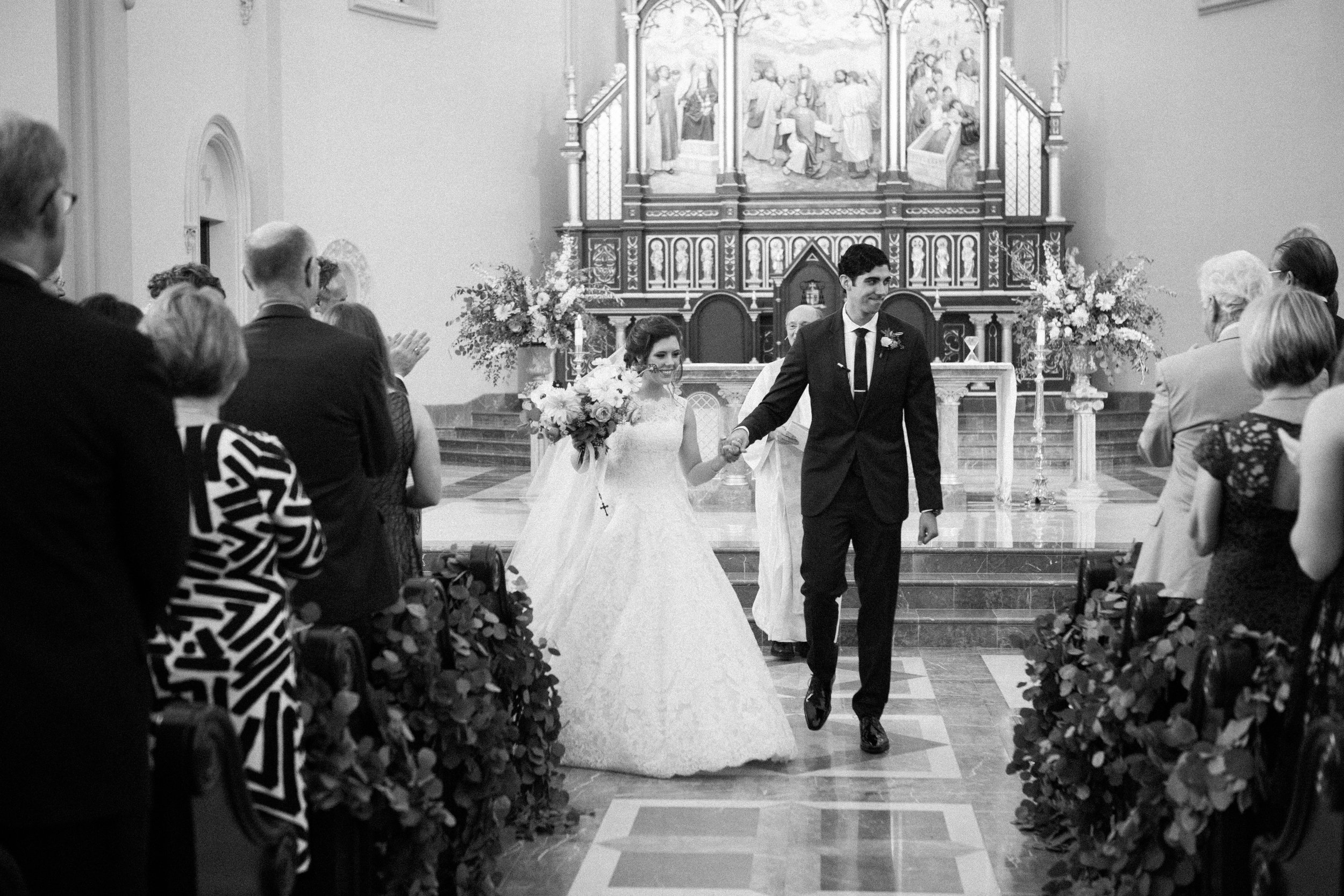 St Stephens Cathedral Owensboro Kentucky wedding